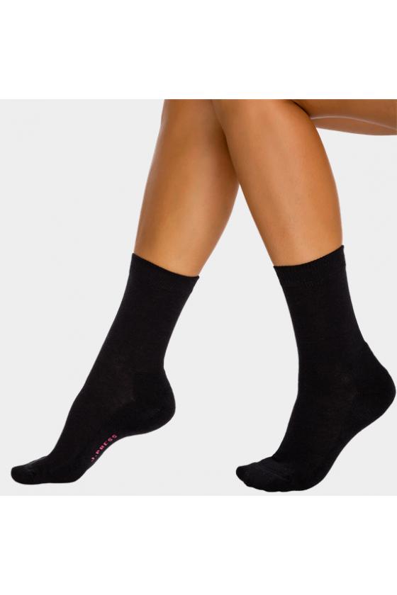 J.PRESS - Női plüss talpú zokni