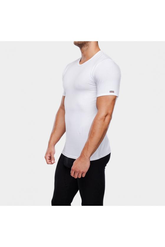 Trikók, pólók - J.PRESS - férfi alsó póló kerekített kivágással J.PRESS