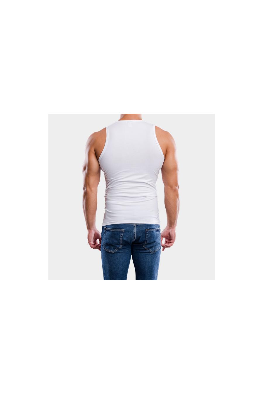 Trikók, pólók - J.PRESS - Férfi ujjatlan alsópóló J.PRESS