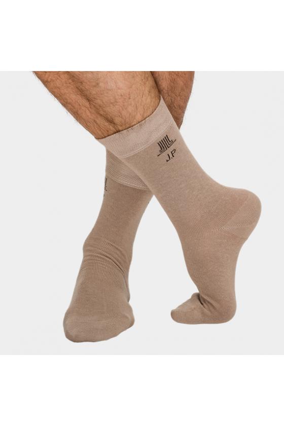J.PRESS - Férfi lazított gumis speciális zokni 100% pamuttal