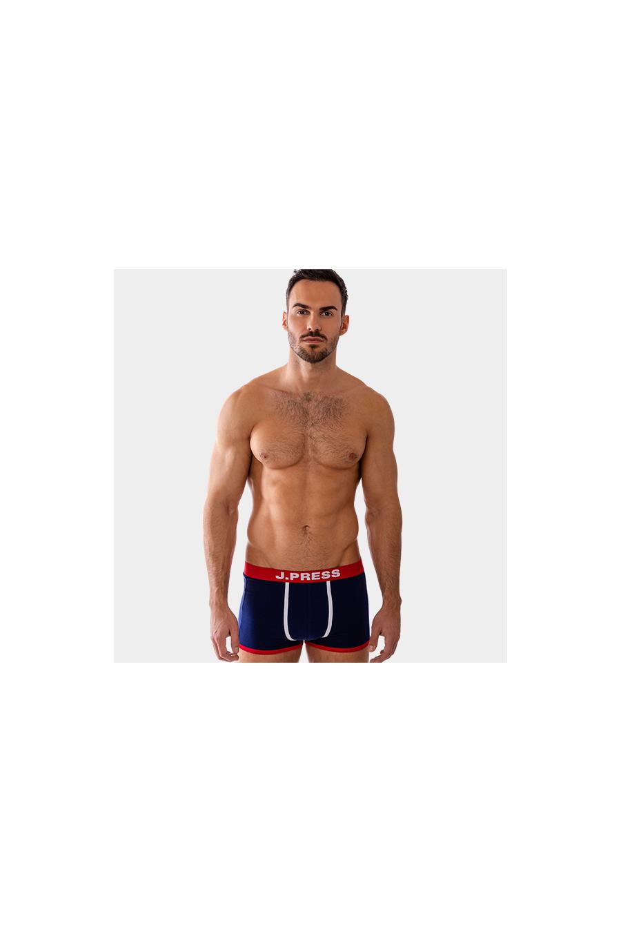 Boxer - J.PRESS - férfi szűk szárú boxer J.PRESS