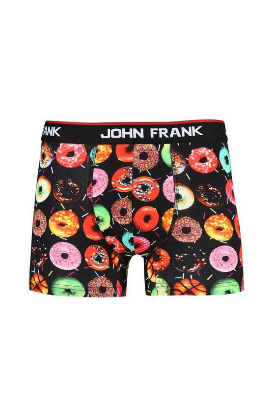 Kezdőlap - JOHN FRANK - Fánk mintás férfi boxer alsó