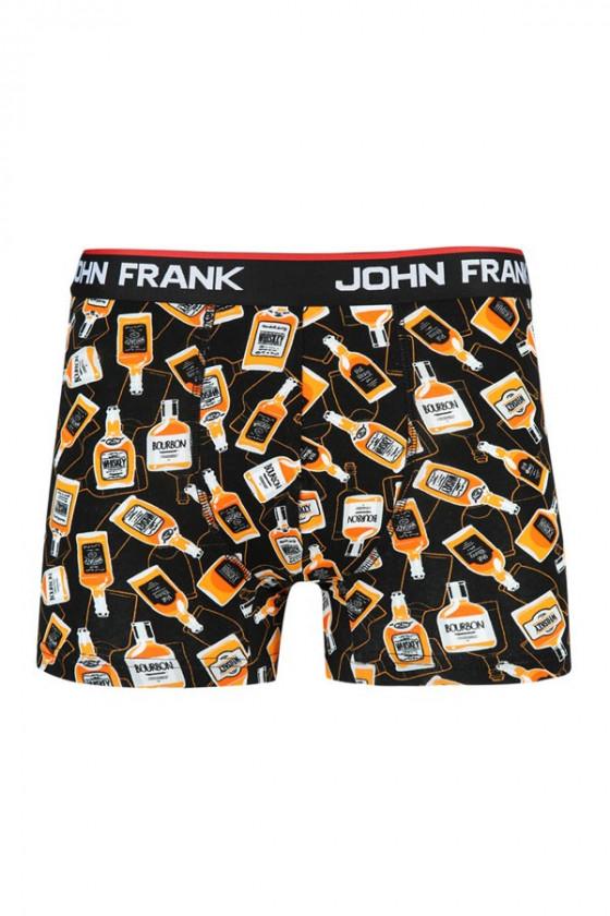 Boxer - JOHN FRANK - Whiskey mintás férfi boxer alsó