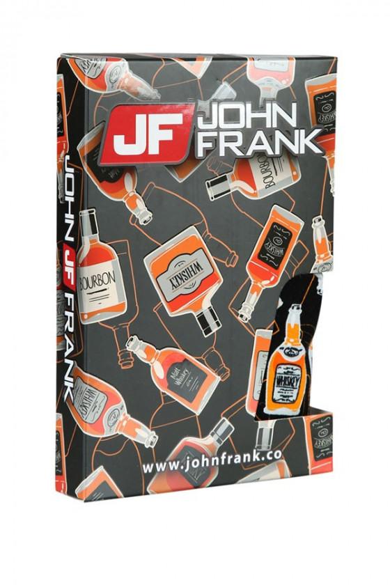JOHN FRANK - Whiskey mintás férfi boxeralsó