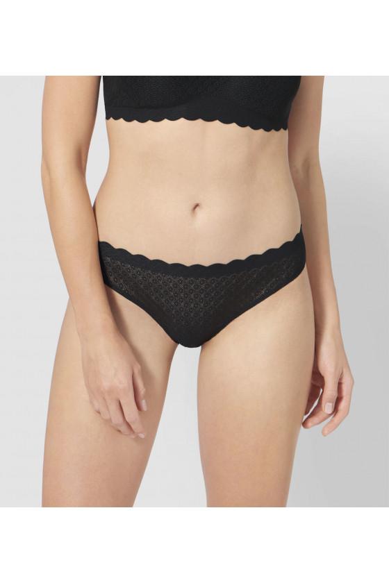Francia bugyi - SLOGGI - ZERO Feel Lace Brazil Panty női alsó SLOGGI