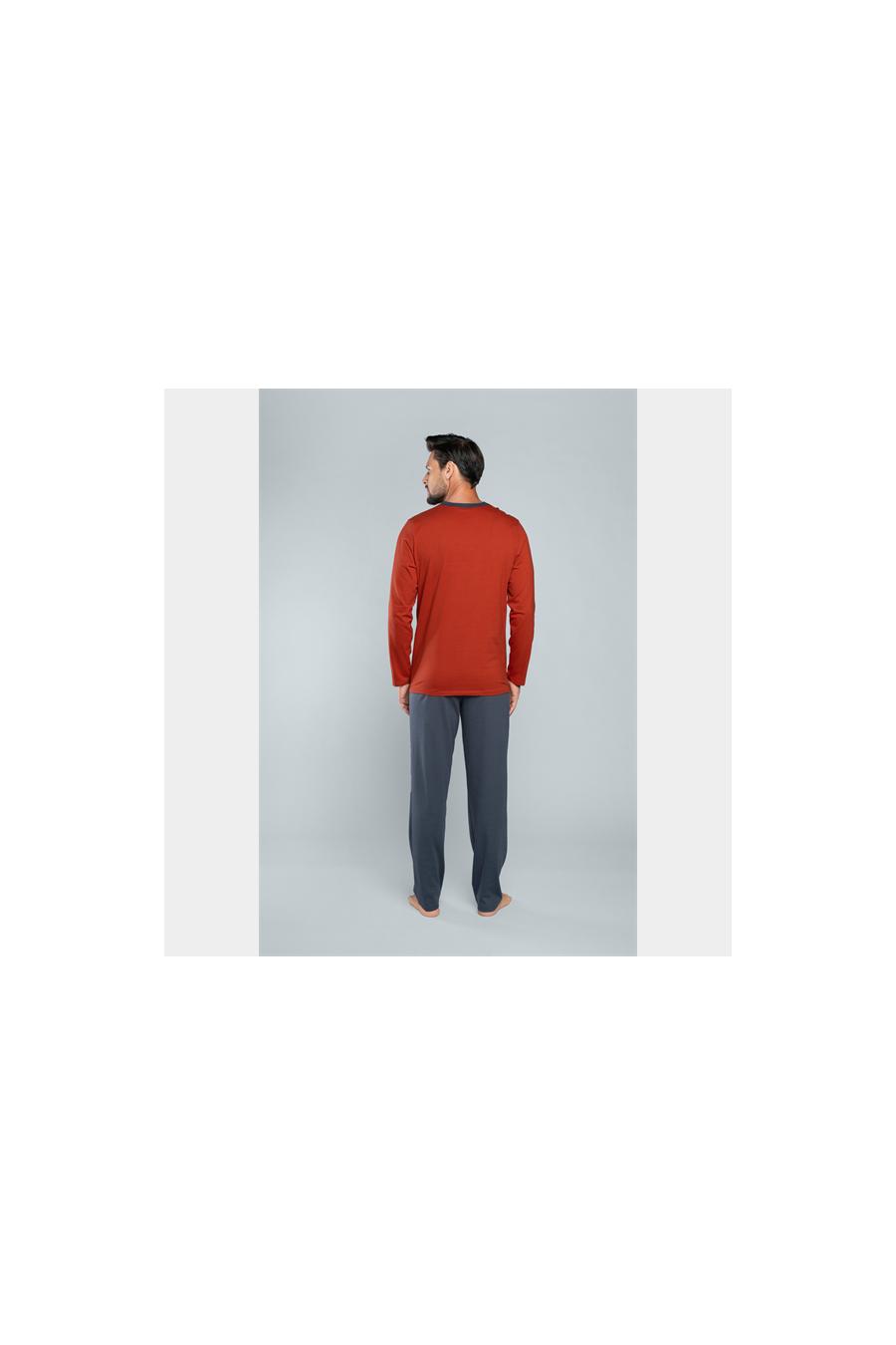 Kezdőlap - J.PRESS - Mintás férfi pizsama szett