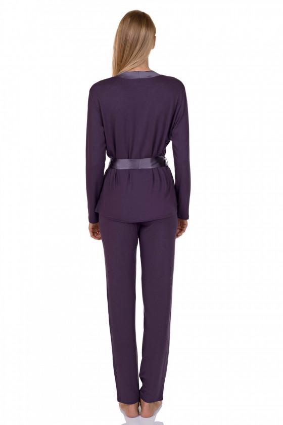 LISCA - Emanuelle 4P hosszú ujjú női pizsama