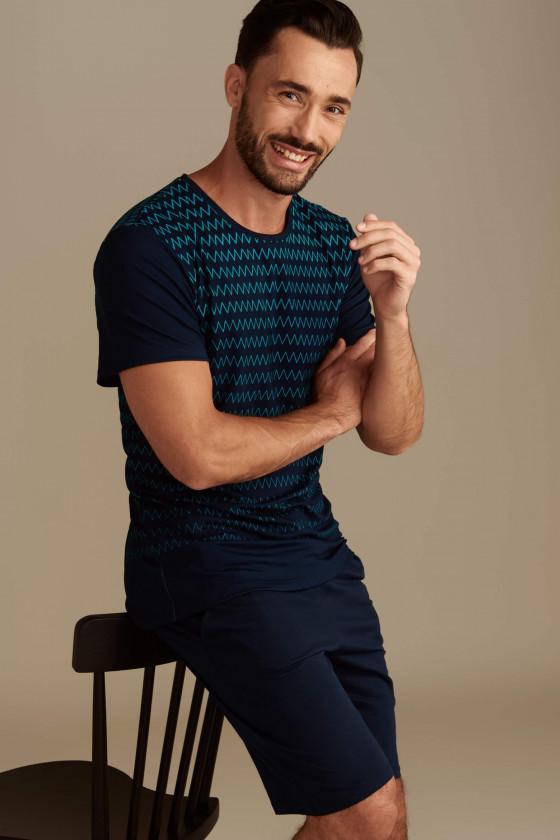 Rövid ujjú - LISCA - Hypnos férfi rövid ujjú pizsama LISCA