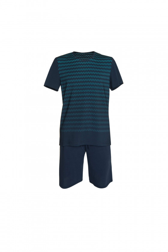 LISCA - Hypnos férfi rövid ujjú pizsama